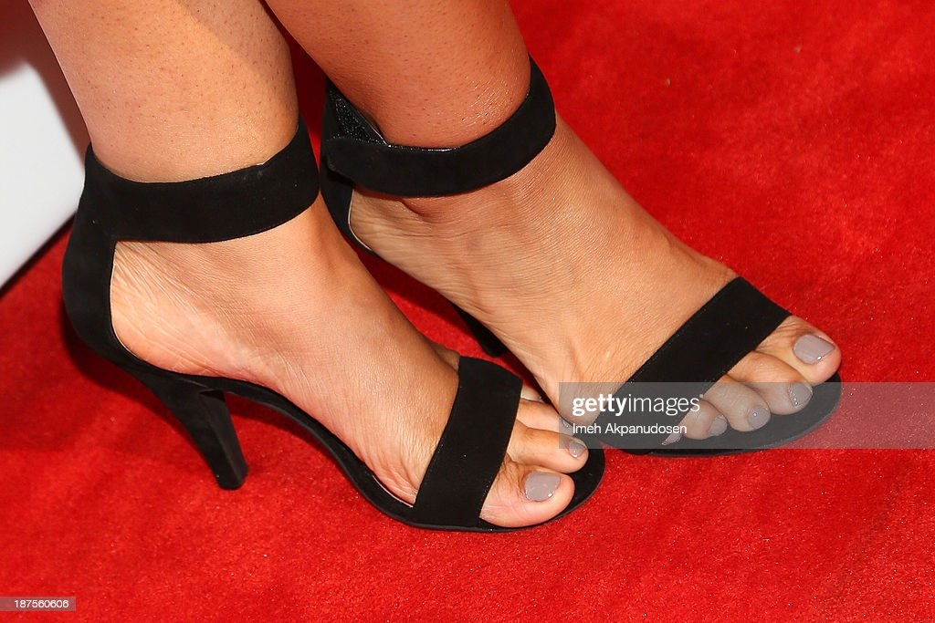Actress Dascha Polanco (shoe detail) attends the L.A. Gay & Lesbian Center's 42nd Anniversary Vanguard Awards Gala at Westin Bonaventure Hotel on November 9, 2013 in Los Angeles, California.