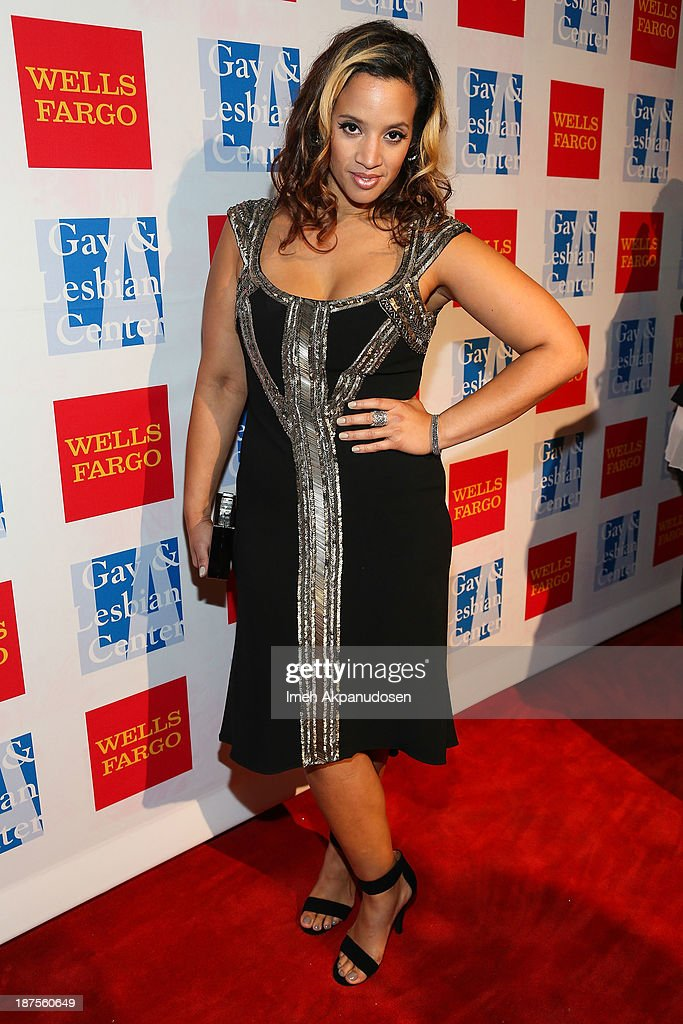 Actress <a gi-track='captionPersonalityLinkClicked' href=/galleries/search?phrase=Dascha+Polanco&family=editorial&specificpeople=11068335 ng-click='$event.stopPropagation()'>Dascha Polanco</a> attends the L.A. Gay & Lesbian Center's 42nd Anniversary Vanguard Awards Gala at Westin Bonaventure Hotel on November 9, 2013 in Los Angeles, California.
