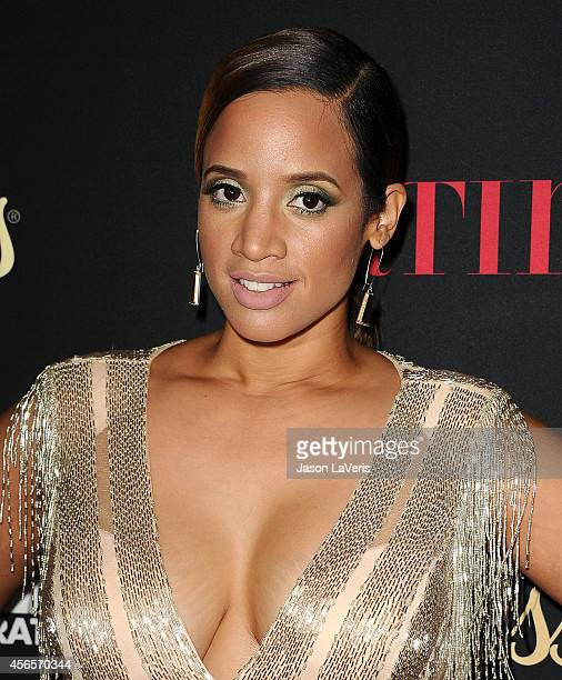 Actress Dascha Polanco attends the Latina Magazine 'Hollywood Hot List' party at Sunset Tower Hotel on October 2 2014 in West Hollywood California