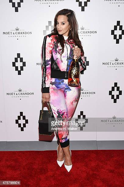 Actress Dascha Polanco attends the Moet Nectar Imperial Rose x Marcelo Burlon Launch Event on June 3 2015 in New York City