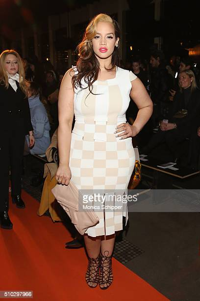 Actress Dascha Polanco attends the Opening Ceremony Fall 2016 fashion show during New York Fashion Week on February 14 2016 in New York City