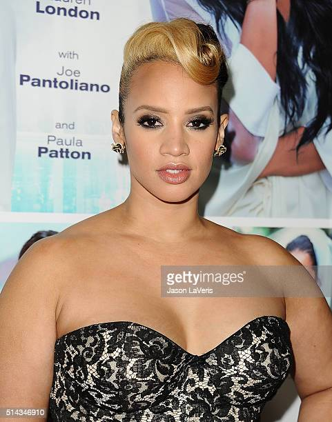 Actress Dascha Polanco attends the premiere of 'The Perfect Match' at ArcLight Hollywood on March 7 2016 in Hollywood California