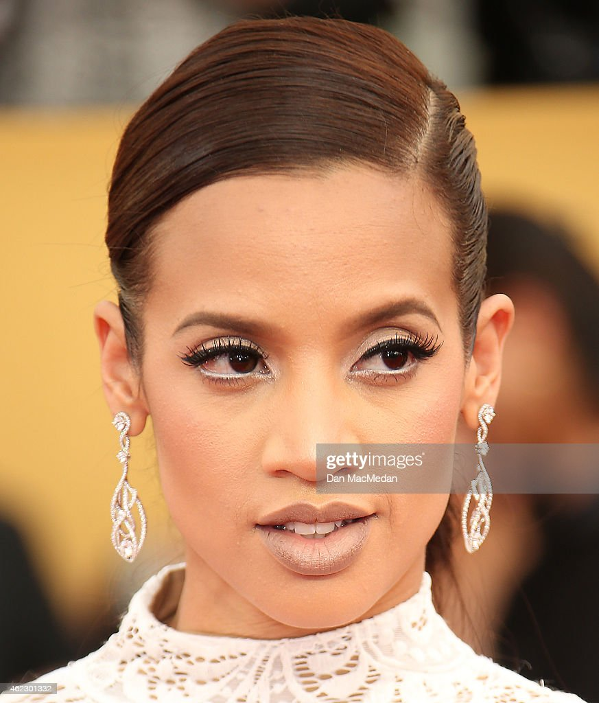Actress Dascha Polanco attends TNT's 21st Annual Screen Actors Guild Awards at The Shrine Auditorium on January 25 2015 in Los Angeles California