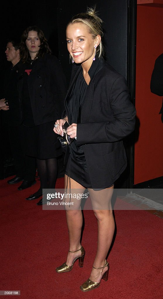 Actress Davina Taylor arrives at the Launch party of Rex Cinema, May 15, 2003 Rupert Stree, Soho, London, United Kingdom.