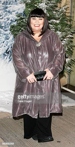 Actress Dawn French arrives at the Royal Film Performance and World Premiere of 'The Chronicles Of Narnia' at the Royal Albert Hall on December 7...