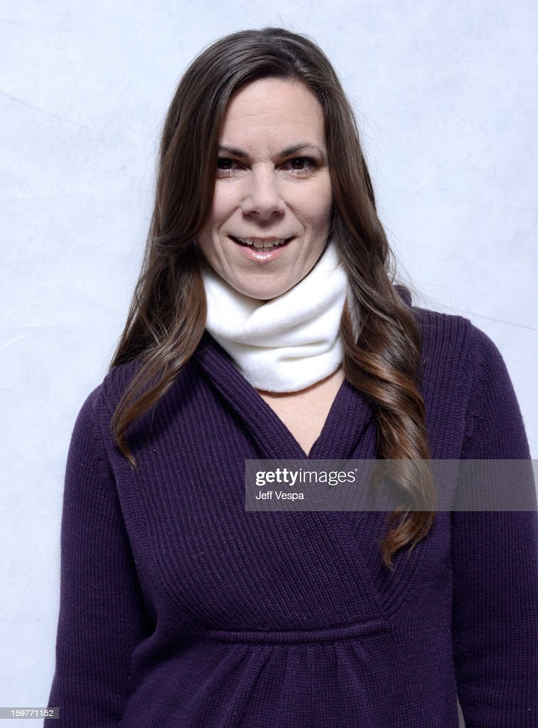 Actress Dawn Meyer poses for a portrait during the 2013 Sundance Film Festival at the WireImage Portrait Studio at Village At The Lift on January 20, 2013 in Park City, Utah.