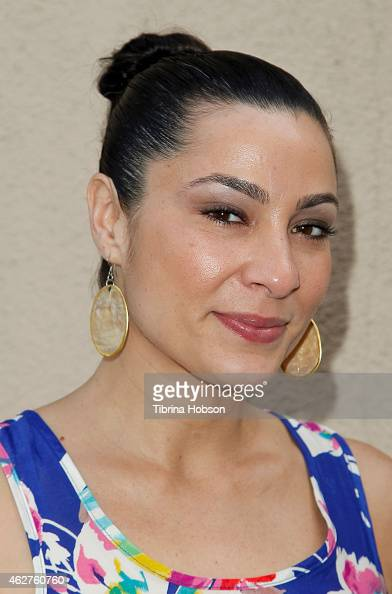 Actress Dawn Noel attends Ron Irwin book signing for 'Live Die Live Again' at Golden Chicken Greek Mediterranean Restaurant on February 4 2015 in...