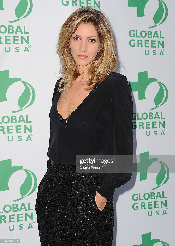 Actress <a gi-track='captionPersonalityLinkClicked' href=/galleries/search?phrase=Dawn+Olivieri&family=editorial&specificpeople=2516888 ng-click='$event.stopPropagation()'>Dawn Olivieri</a> arrives at Global Green USA's 18th Annual Millennium Awards at Fairmont Miramar Hotel on June 7, 2014 in Los Angeles, California.