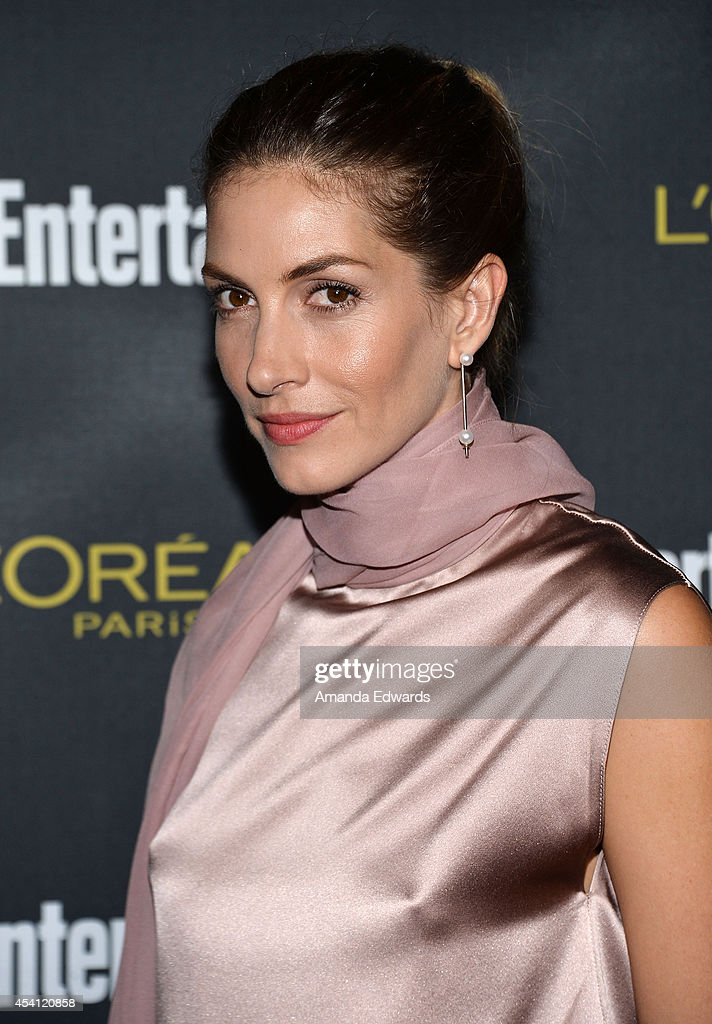 Actress Dawn Olivieri arrives at the 2014 Entertainment Weekly Pre-Emmy Party at Fig & Olive Melrose Place on August 23, 2014 in West Hollywood, California.
