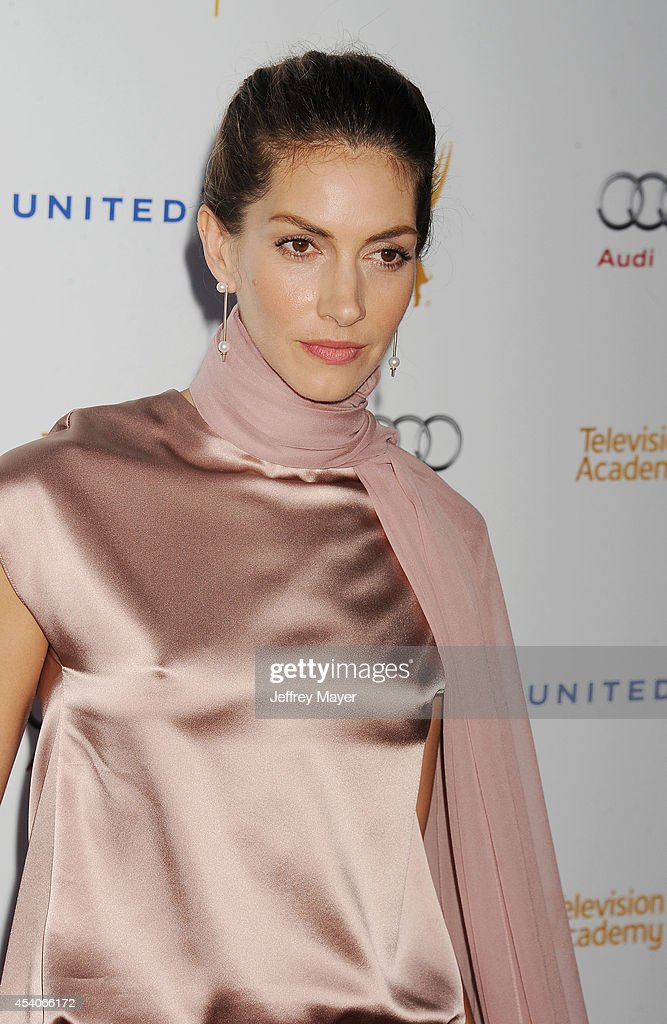 Actress <a gi-track='captionPersonalityLinkClicked' href=/galleries/search?phrase=Dawn+Olivieri&family=editorial&specificpeople=2516888 ng-click='$event.stopPropagation()'>Dawn Olivieri</a> arrives at the Television Academy's 66th Emmy Awards Performance Nominee Reception at the Pacific Design Center on Saturday, Aug. 23, 2014, in West Hollywood, California.