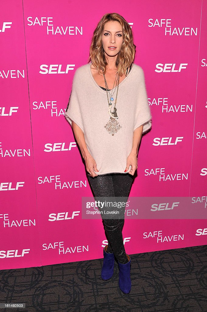 Actress <a gi-track='captionPersonalityLinkClicked' href=/galleries/search?phrase=Dawn+Olivieri&family=editorial&specificpeople=2516888 ng-click='$event.stopPropagation()'>Dawn Olivieri</a> attends SELF Magazine and Relativity Media's special New York screening of 'Safe Haven' at Landmark Theatres Sunshine Cinema on February 11, 2013 in New York City.