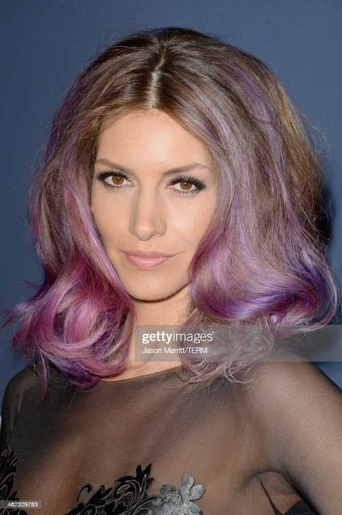 Actress <a gi-track='captionPersonalityLinkClicked' href=/galleries/search?phrase=Dawn+Olivieri&family=editorial&specificpeople=2516888 ng-click='$event.stopPropagation()'>Dawn Olivieri</a> attends the 2014 InStyle and Warner Bros. 71st Annual Golden Globe Awards Post-Party on January 12, 2014 in Beverly Hills, California.