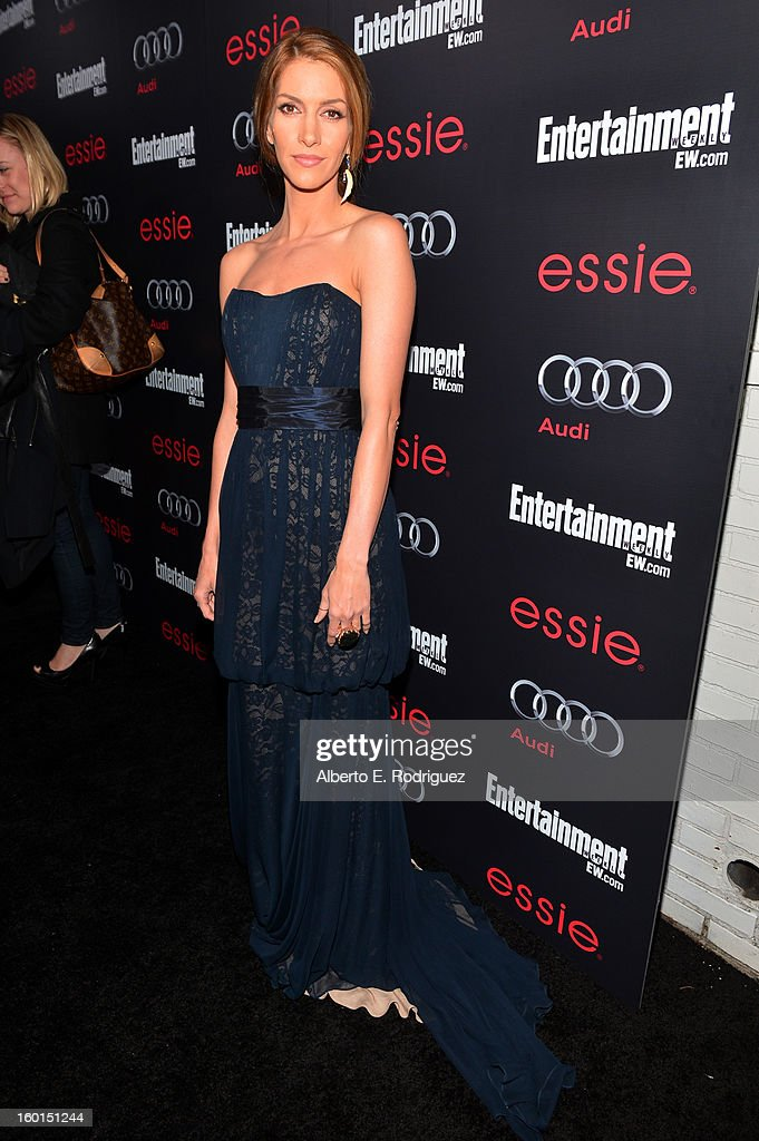 Actress Dawn Olivieri attends the Entertainment Weekly Pre-SAG Party hosted by Essie and Audi held at Chateau Marmont on January 26, 2013 in Los Angeles, California.