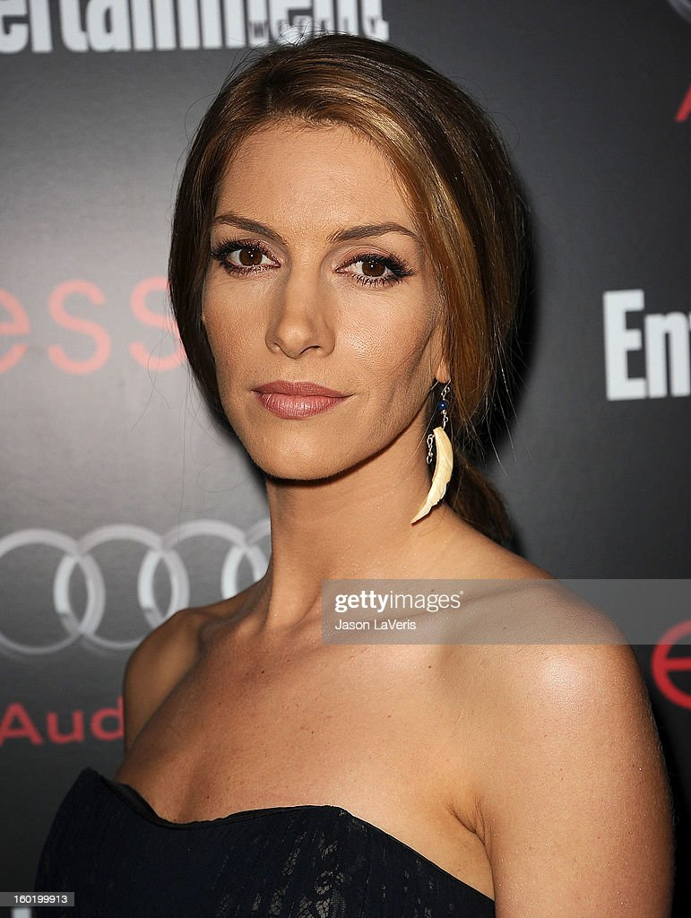 Actress Dawn Olivieri attends the Entertainment Weekly Screen Actors Guild Awards pre-party at Chateau Marmont on January 26, 2013 in Los Angeles, California.