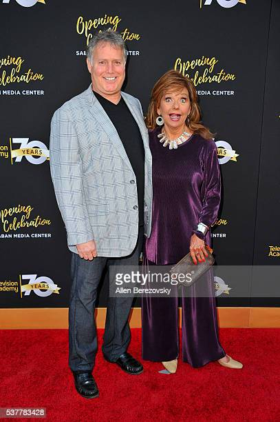 Actress Dawn Wells and a guest attend the Television Academy's 70th Anniversary Gala on June 2 2016 in Los Angeles California