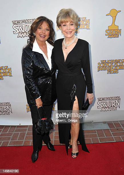Actress Dawn Wells and actress Dawn Wells at the 38th Annual Saturn Awards Presented By The Academy Of Science Fiction Fantasy Horror Films held at...