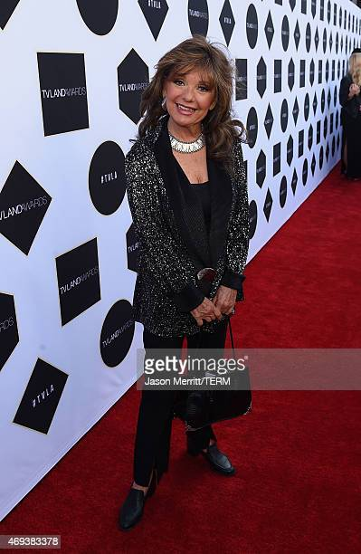 Actress Dawn Wells attends the 2015 TV Land Awards at Saban Theatre on April 11 2015 in Beverly Hills California