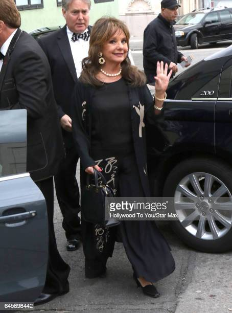 Actress Dawn Wells is seen on February 26 2017 in Los Angeles CA