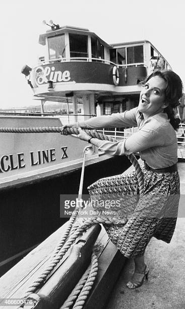 Actress Dawn Wells on Circle Line Pier Dawn is best know for her role as Mary Ann Summers on the CBS sitcom Gilligan's Island