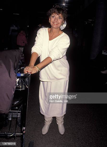 Actress Dawn Wells sighted on February 19 1993 at the Los Angeles International Airport in Los Angeles California
