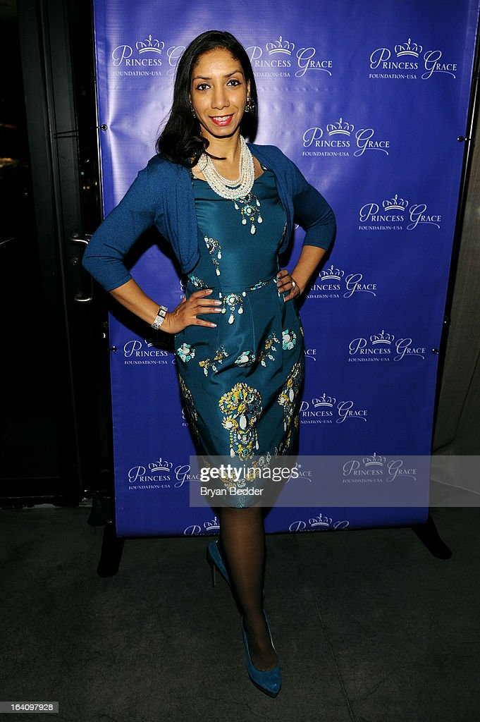 Actress Dawne Marie Grannum attends the Kick Off Event for the Princess Grace Foundation - USA Guild, For Emerging Theatre, Dance & Film Artists at Blue Ribbon Kanpai Garden, Thompson LES Hotel on March 19, 2013 in New York City.