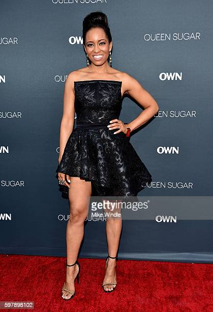 "Actress DawnLyen Gardner attends OWN Oprah Winfrey Network's ""Queen Sugar"" premiere at the Warner Bros Studio Lot Steven J Ross Theater on August 29..."