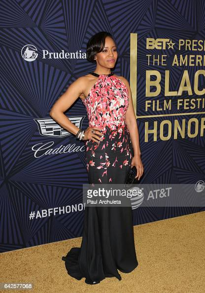 Actress DawnLyen Gardner attends the BET's 2017 American Black Film Festival Honors Awards at The Beverly Hilton Hotel on February 17 2017 in Beverly...