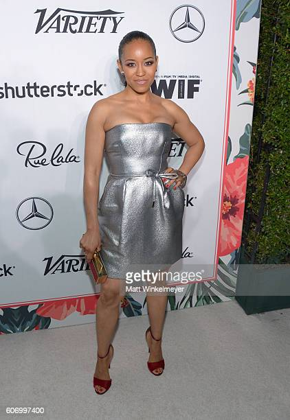 Actress DawnLyen Gardner attends Variety and Women in Film's PreEmmy Celebration at Gracias Madre on September 16 2016 in West Hollywood California