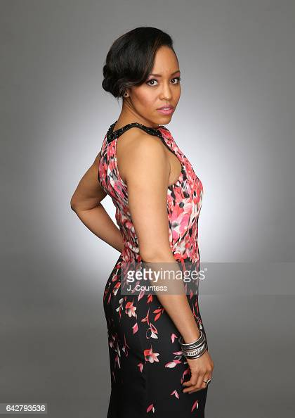 Actress DawnLyen Gardner poses for a portrait for BET's 2017 American Black Film Festival Honors Awards at The Beverly Hilton Hotel on February 17...