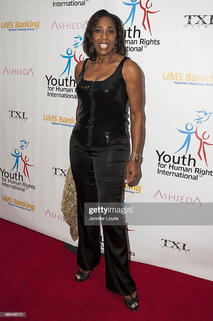 Actress <a gi-track='captionPersonalityLinkClicked' href=/galleries/search?phrase=Dawnn+Lewis&family=editorial&specificpeople=1524600 ng-click='$event.stopPropagation()'>Dawnn Lewis</a> attends the Youth For Human Rights International Celebrity Benefit Event hosted at the Beso on March 24, 2014 in Hollywood, California.