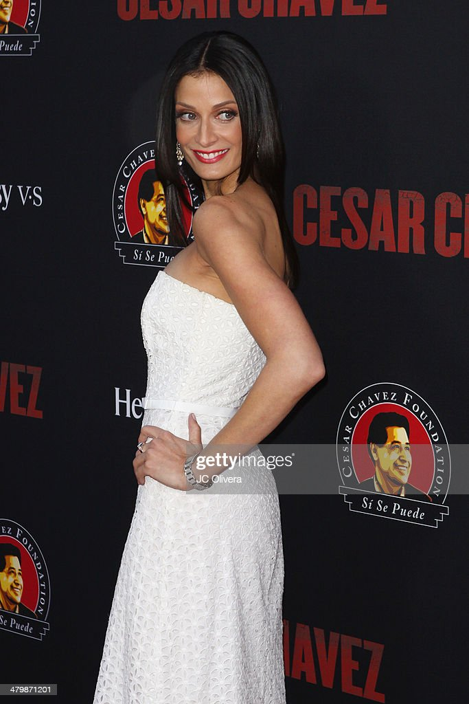 Actress Dayanara Torres attends 'Cesar Chavez' Los Angeles Premiere at TCL Chinese Theatre on March 20, 2014 in Hollywood, California.