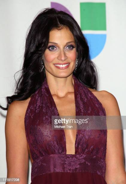 Actress Dayanara Torres in the 8th Annual Latin GRAMMY Awards press room at Mandalay Bay on November 8 2007 in Las Vegas Nevada