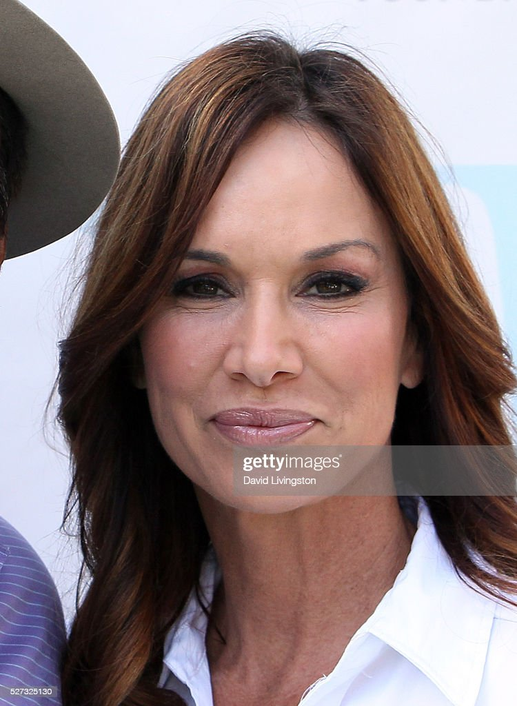 Actress Debbe Dunning attends the Ninth Annual George Lopez Celebrity Golf Classic at Lakeside Golf Club on May 2, 2016 in Burbank, California.