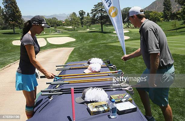Actress Debbe Dunning attends The Screen Actors Guild Foundation's 6th Annual Los Angeles Golf Classic on June 8 2015 in Burbank California