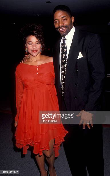 Actress Debbie Allen and husband Norman Nixon attending the party for 100th Episode of 'A Different World' on October 14 1991 at the Armand Hammer...