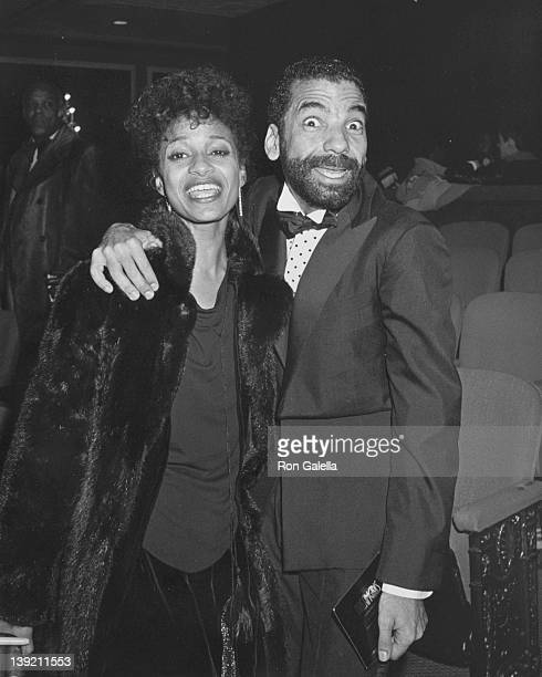 Actress Debbie Allen and Michael Peters attending the opening of 'Dreamgirls' on December 20 1981 at the Imperial Theater in New York City New York
