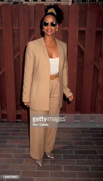 Actress Debbie Allen attending 'Black Business Association Gala Honoring Berry Gordy' on September 11 1993 at the Hyatt Regency Hotel in Los Angeles...