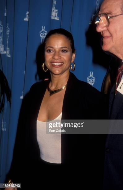 Actress Debbie Allen attending 'Nominees Luncheon For 64th Annual Academy Awards' on March 17 1992 at the Beverly Hilton Hotel in Beverly Hills...