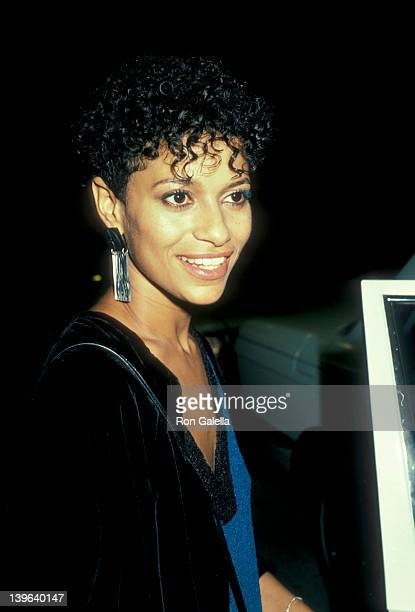 Actress Debbie Allen attending 'Party For Eddie Murphy' on August 24 1983 at the Hard Rock Cafe in Los Angeles California