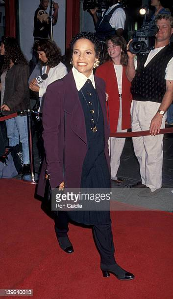 Actress Debbie Allen attending the screening of 'Beverly Hills Cop 3' on May 22 1994 at Mann Chinese Theater in Hollywood California