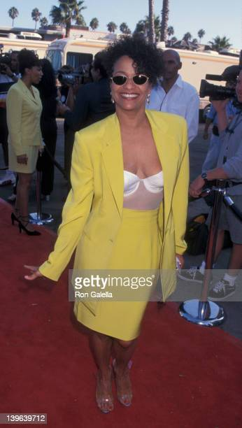 Actress Debbie Allen attending Third Annual Sould Train Lady of Soul Awards on September 5 1997 at the Santa Monica Civic Auditorium in Santa Monica...