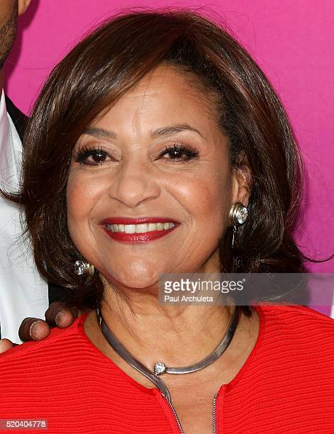 Actress Debbie Allen attends the TV Land Icon Awards at The Barker Hanger on April 10 2016 in Santa Monica California