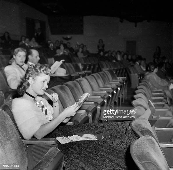 Actress Debbie Reynolds attends a movie premiere 'Pandora and the Flying Dutchman' in Los AngelesCA