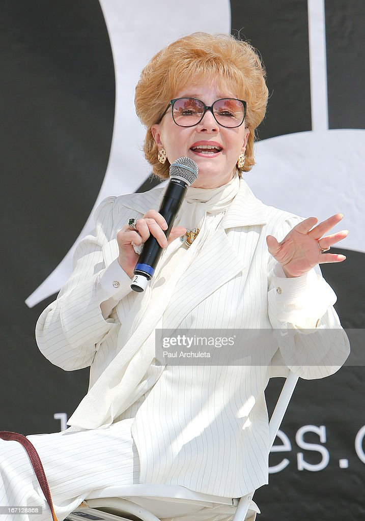 Actress Debbie Reynolds attends the 18th annual Los Angeles Times Festival Of Books - Day 1 at USC on April 20, 2013 in Los Angeles, California.