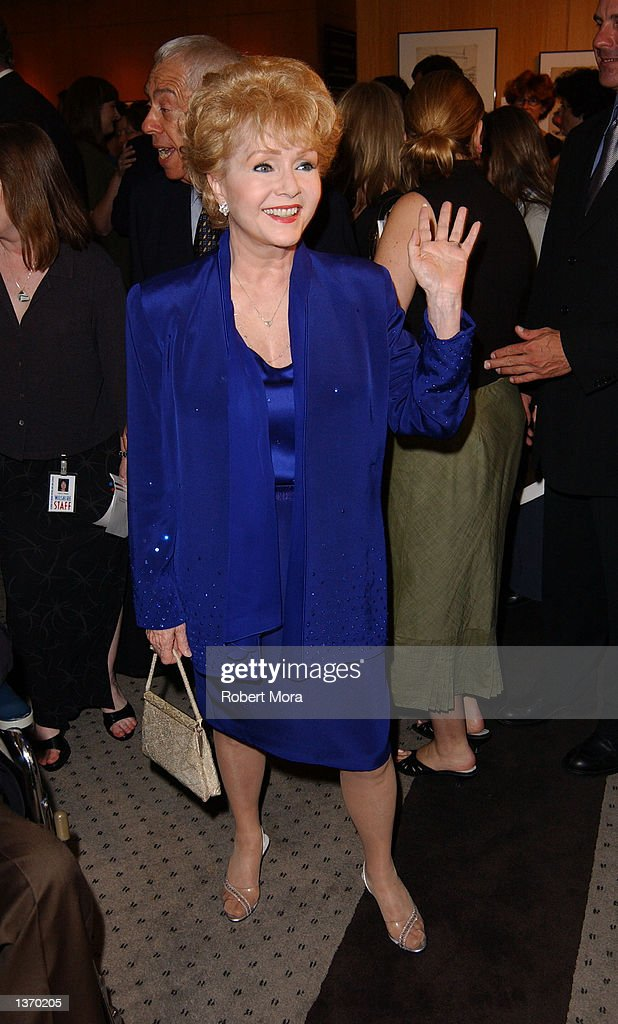 Actress Debbie Reynolds attends the 50th Anniversary screening of 'Singin' in the Rain' at the Academy of Motion Picture Arts and Sciences on September 5, 2002 in Beverly Hills, California.