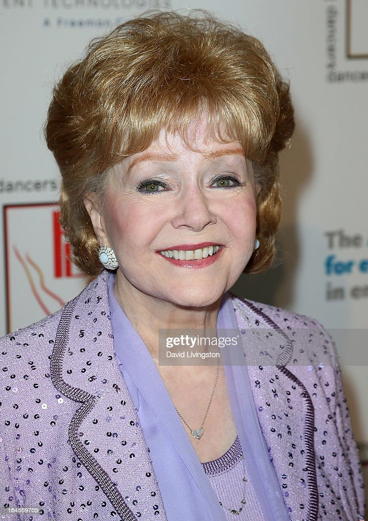 Actress Debbie Reynolds attends the Professional Dancers Society's Gypsy Awards Luncheon at The Beverly Hilton Hotel on March 24, 2013 in Beverly Hills, California.