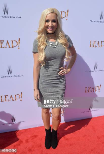 Actress Debbie Sherman attends the premiere of The Weinstein Company's 'Leap' at the Pacific Theatres at The Grove on August 19 2017 in Los Angeles...