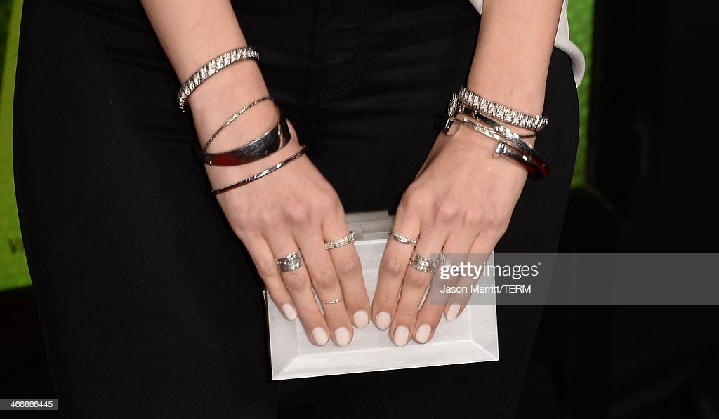 Actress Debby Ryan arrives at The Weinstein Company's premiere of 'Vampire Academy' at Regal 14 at L.A. Live Downtown on February 4, 2014 in Los Angeles, California.