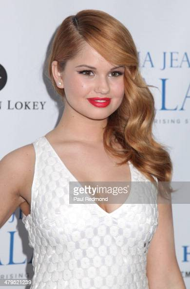 Actress Debby Ryan arriving at the 2nd Annual Norma Jean Gala 2014 at The Paley Center for Media on March 18 2014 in Beverly Hills California