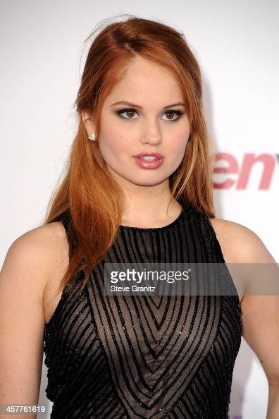 Actress Debby Ryan attends 'Justin Bieber's Believe' world premiere at Regal Cinemas LA Live on December 18 2013 in Los Angeles California